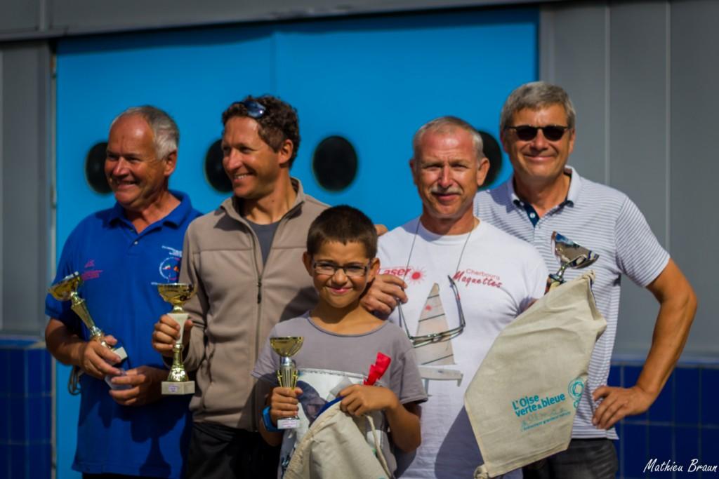 Les grands gagnants du championnat de France de Laser RC