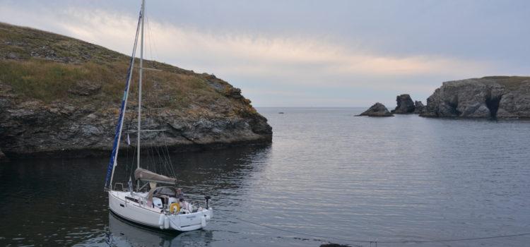 Croisière en Bretagne sud en juillet 2019